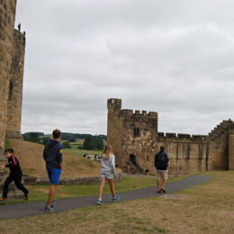 Alnwick Castle - Harry Potter filming location