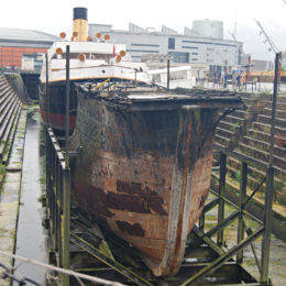SS Nomadic - last remaining White Star Line