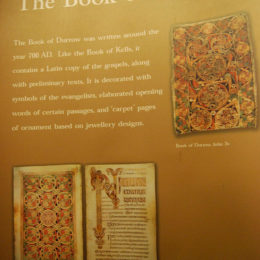 Book of Kells Exhibit