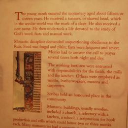 Book of Kells Exhibit