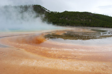 Grand Prismatic Hot Spring   Midway Geyser Basin   Photography by Jenny S.W. Lee