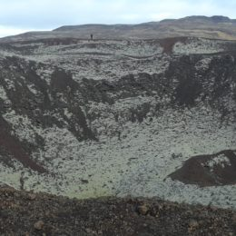 Gabrok Crater in Iceland | Jenny SW Lee