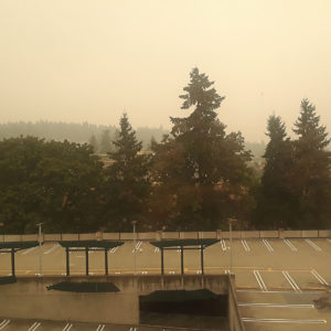 Forest fires in the west coast | Redmond, WA (Sept 2020)