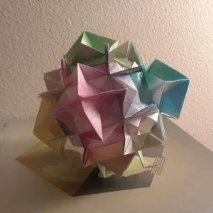 Gaia modular origami | Design by David Mitchell