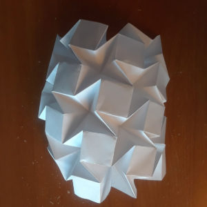 Water Bomb Tessellation | Origami Design by Eric Gjerde